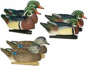 Zink duck decoys