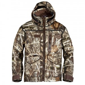 Stormr camo duck hunting jacket
