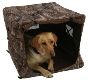 Wildfowler dog duck blind