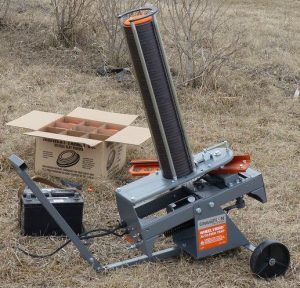 Champion WheelyBird clay pigeon launcher